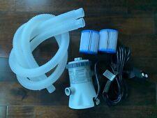 Intex Pool Krystal Clear Filter Pump w/ 2 Filters - 330 gph