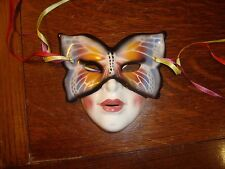Antique Porcelain Italy Mask