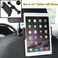 360° Rotation Car BackSeat Tablet Cell Phone Holder Stand Headrest Mount Bracket