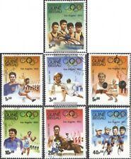 Guinea-Bissau 690-696 (kompl.Ausg.) gestempelt 1983 Olympische Sommerspiele 1932