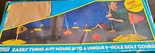 VINTAGE 1986 NERF INDOOR GOLF SET w/ 2 Original Balls Not Complete
