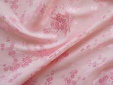 Seidenstoff Kirschblüte rosa  110 cm breit Meterware Japan China Manga