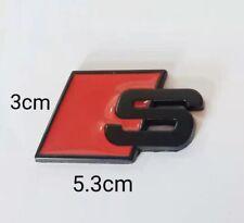 1 Logo S Line En Metal Noir Sline 5.3cm*3cm
