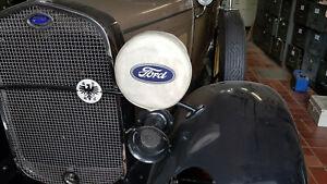 2St Ford Model A Scheinwerfer Kappen