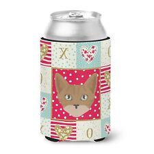 """Caroline's Treasures Cat Love Can or Bottle Hugger cold-beverage-koozies, Mu."