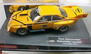 """Carrera Evolution - Opel Commodore, Steinmetz """"Jumbo"""", Interserie 1974"""