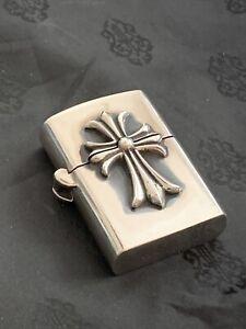 chrome hearts sterling silver lighter