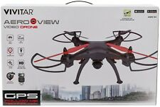 New Vivitar DRC-446 Aeroview Drone With HD CAMERA GPS Real Time Video
