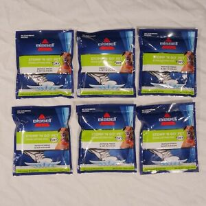 Lot of 6 New Bissel Stomp 'N Go Pet Stain Lifting Pre-moistened Pads