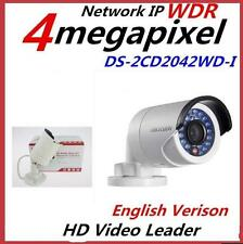 Original English Hikvision DS-2CD2042WD-I (4mm) 4MP POE IR Bullet Network Camera