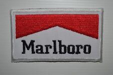 Marlboro Logo iron/sew on embroidered patch formula 1 jacket Jeans racing Badge