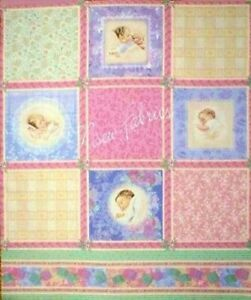 Bessie Pease Fabric Victorian Baby Flannel Qult Blocks- 4 Pack of FQ = 1 yard