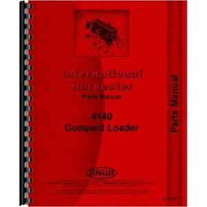 Chassis International Harvester 4136 Compact Skid Steer Loader Service Manual