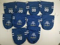 10 Crown Royal Bag Blue Colts? Cowboys? Football Jersey 750mL Limited Edition