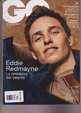 GQ Italia Revista Aprile 2017 ,Eddie Redmayne