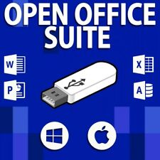OPEN OFFICE SUITE FOR WINDOWS || WORD EXCEL POWERPOINT || WORD PROCESSOR ON USB