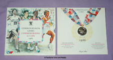 1986 ROYAL MINT SPECIMEN COMMONWEALTH GAMES £2 COIN IN FOLDER - Edinburgh Games