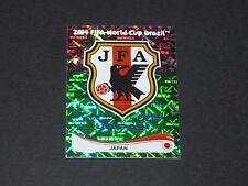 241 ECUSSON BADGE WAPPEN JAPON NIPPON PANINI FOOTBALL FIFA WORLD CUP 2014 BRASIL