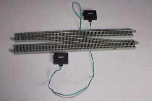 Bachmann E-Z Track Nickel Silver Gray Roadbed Electric Crossover