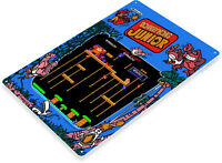 TIN SIGN Donkey Kong Junior Arcade Shop Game Room Marquee Console Décor B066