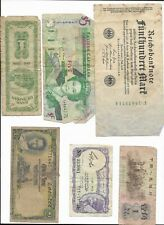 30+ Vintage World Bank Notes Foreign Currency Paper Money Bills