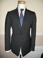 """REISS Quality fabric single button smart Slim cut Suit Size UK 38R""""EUR 48R""""w32"""