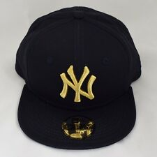 New Era Kids Child 9Fifty Gold on Navy Adjustable Snapback Baby Cap Hat e1ac7b413673