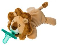 Mary Meyer WubbaNub Infant Newborn Baby Soothie Pacifier ~ Afrique Lion