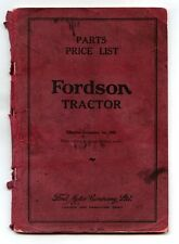 Ford Tractor Parts Catalogues