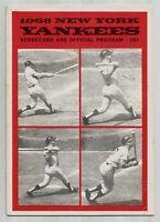 1968 MICKEY Mantle LAST HR #536/536 Vintage Baseball Program NY Yankees HOMERUN