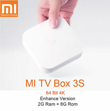 Xiaomi Mi TV Box 3 Enhanced 6-Core 2.4G/5G WiFi 4K Andriod 6.0 kodi 海外越狱大量免费直播点播