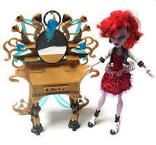 Monster high jouet poupée action horreur figure avec coiffeuse, gothique barbie