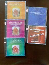 Dr Dharma Singh Khalsa MD DVD CD LOT 5 New Sealed Rare Holistic Medicine Brain