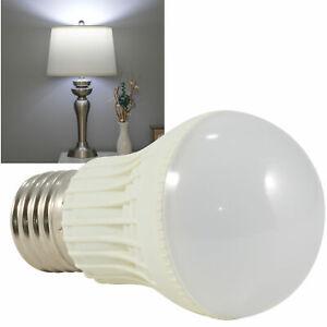 E27 3W 5W 7W Energy Saving Lamp Globe Bulb Ball Light White DC 12V Bedroom lamp