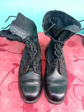 Wellco USA Military Black Leather Combat Infantry Boots 10W EU size 43
