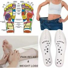 1 Pair Acupressure Magnetic Massage Foot Therapy Reflexology Pain Relief