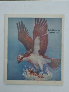 Vintage 1943 Spring Catalog by L.L. Bean of Freeport Maine, Outdoor Gear