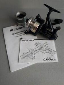 SHIMANO BAITRUNNER 3500A WITH SPARE SPOOL. EXCELLENT CONDITION, *FULLY SERVICED*