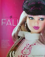 BARBIE USA KATALOG HERBST 2007 HELLO KITTY THE HARD ROCK CAFE THE INTERVIEW CHER