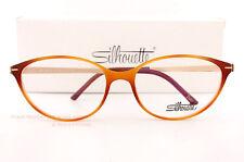 2fae5e596d New Silhouette Eyeglass Frames Titan Accent Full Rim 1578 6020 Brown Size 56