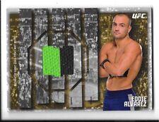 2015 Topps UFC Knockout Fight Mat Relic Card. Eddie Alvarez FMR-EA. #27/88.