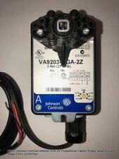 New Johnson Controls Va9203 Gga 2z Proportional Electric Rotary Valve Actuator