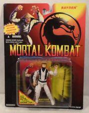 Mortal Kombat - Rayden / Raiden Includes Real Action Pop-Ups  (MOC) Hasbro 1994
