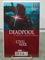 Deadpool #10 Civil War Variant Cover Marvel Comics vf/nm CB1655