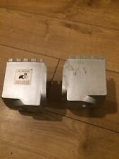 ROGER BLACK SILVER MEDAL TREADMILL MODEL-GM-41001 ( PAIR END CAPS FOR SALE ONLY)