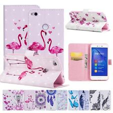 PU Leather Magnetic Printed Phone Case Cover For Huawei Enjoy 7S P20 Lite Xiaomi