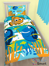 FINDING NEMO DORY SINGLE DUVET COVER PILLOWCASE SET BEDDING BED QUILT NEW COZY