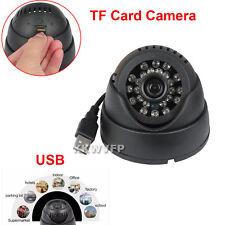 Cámara de seguridad ranura para tarjeta TF USB confiable Visión Nocturna CCTV DVR para el hogar Domo K802