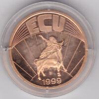ECU Europa 1999 Europa mit dem Stier