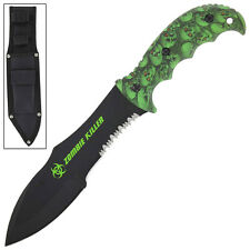 Realm of Sins Zombie Killer Hunting Outdoor Fixed Blade Knife